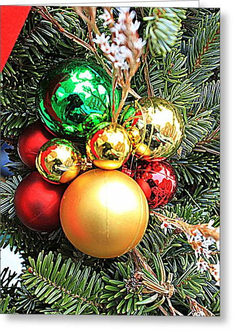 Christmas Ornaments Greeting Card