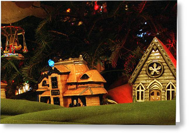 Christmas Ornaments Vi Greeting Card by Harold E McCray