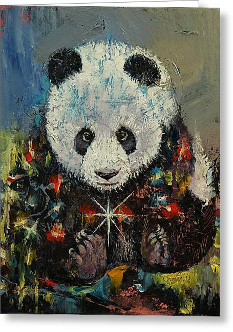 Christmas Greeting Card by Michael Creese