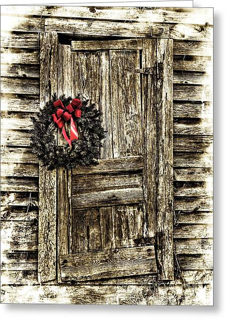 Christmas Past Greeting Card by Benanne Stiens