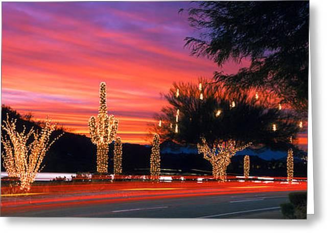 Christmas, Phoenix, Arizona, Usa Greeting Card