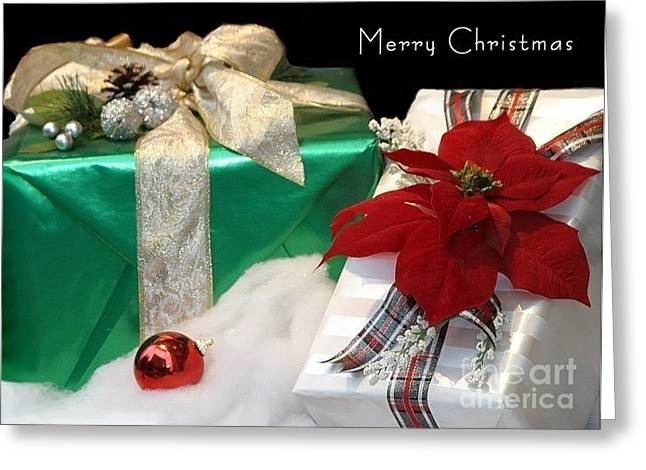 Christmas Presents Greeting Card