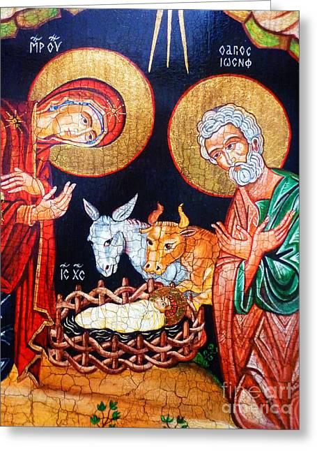 Christmas Greeting Card by Ryszard Sleczka