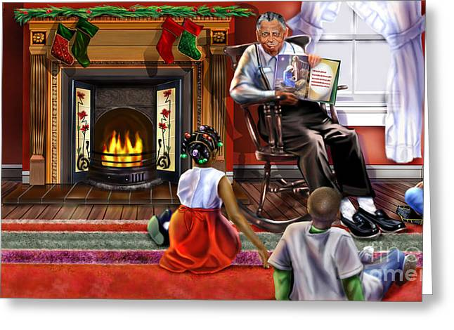 Christmas Story Greeting Card by Reggie Duffie