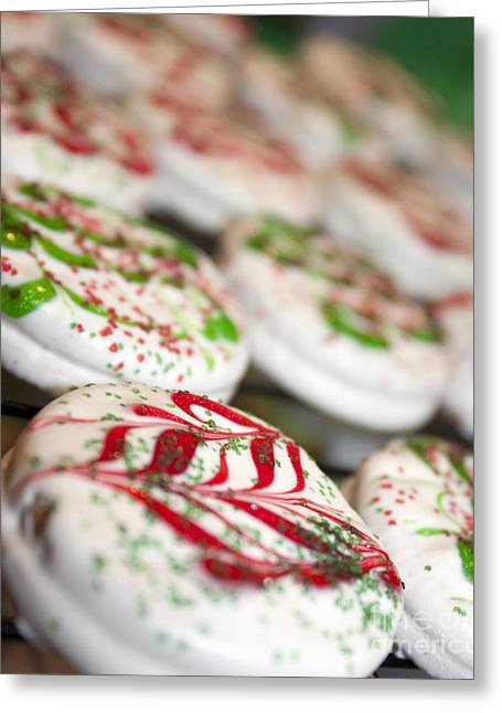 Christmas Sweets Greeting Card by Christine Wiegand