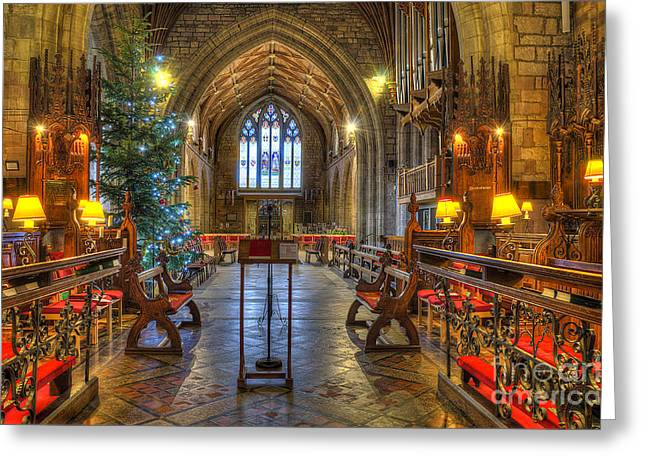 Christmas Time  Greeting Card by Darren Wilkes