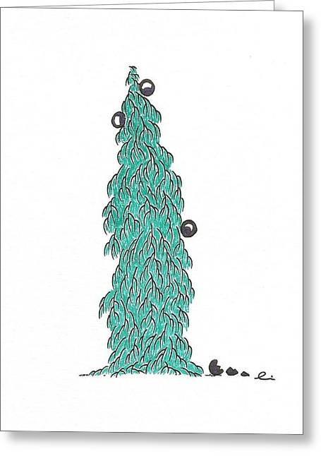 Christmas Tree 5 Greeting Card