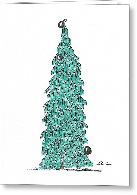 Christmas Tree 6 Greeting Card
