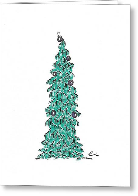 Christmas Tree 1 Greeting Card
