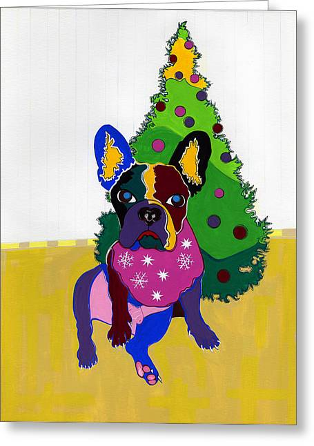 Christmas With Clairabell Greeting Card
