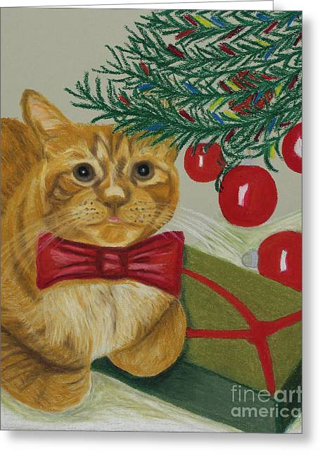 Christmas With Rufus Greeting Card