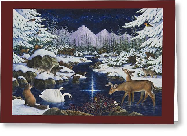 Christmas Wonder Greeting Card
