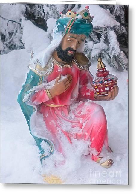 Christus Mansionem Benedicat Greeting Card by  Andrzej Goszcz