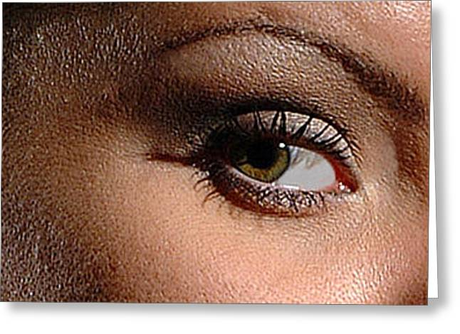 Christy Eyes 89 Greeting Card by Gary Gingrich Galleries