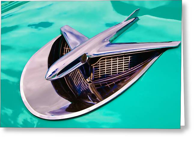 Chrome Aircraft Greeting Card by Phil 'motography' Clark