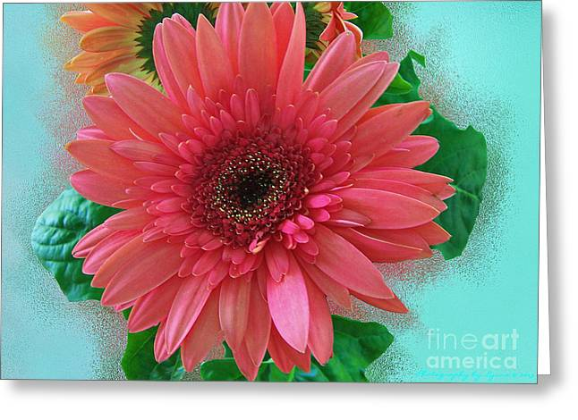 Greeting Card featuring the photograph Chrysanthemum by Gena Weiser