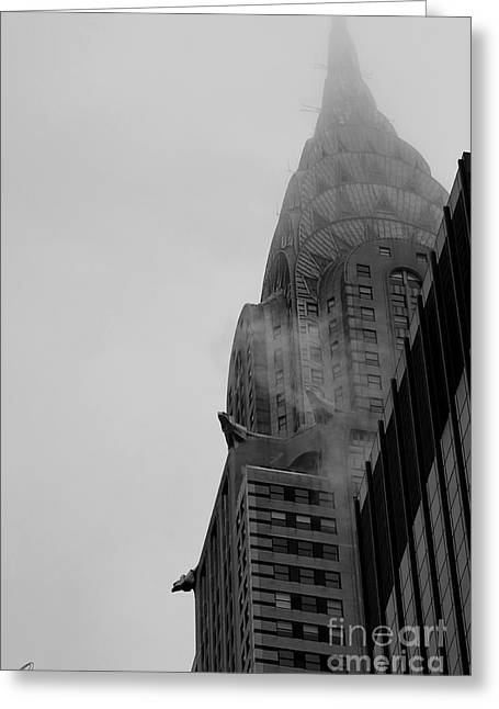 Chrysler Building 1 Greeting Card by Chris Thomas