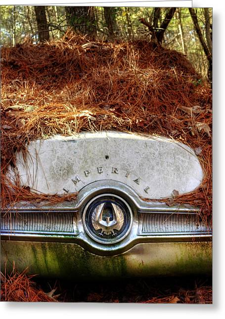 Chrysler Imperial Greeting Card by Greg Mimbs