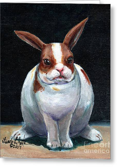 Chubby Bunnie Greeting Card