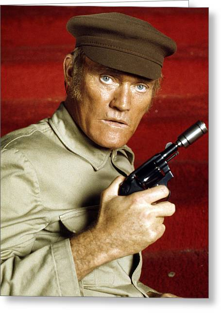 Chuck Connors In Soylent Green  Greeting Card by Silver Screen