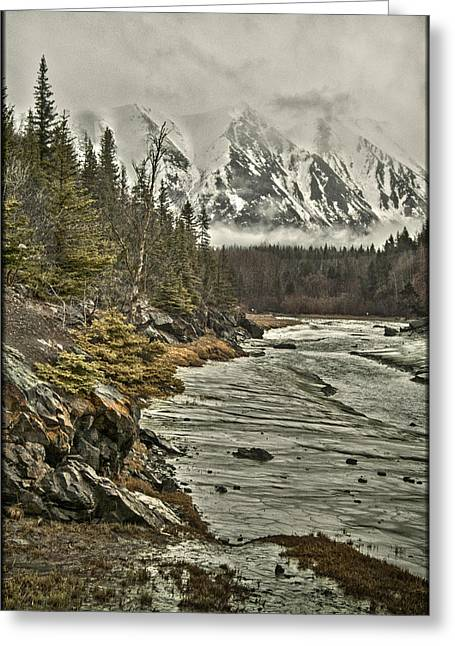 Chugach Range Greeting Card