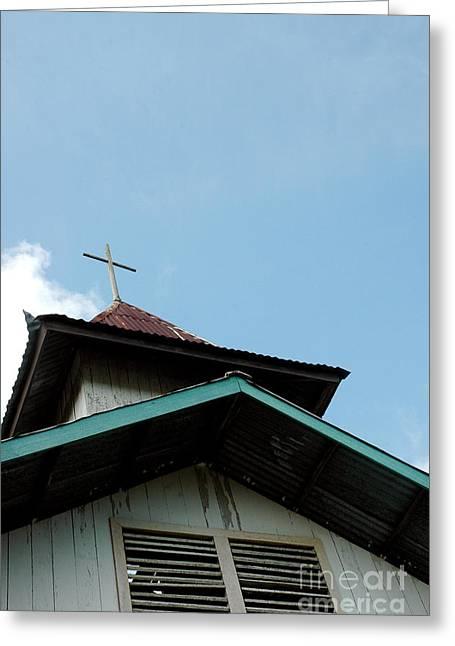 Church Greeting Card by Antoni Halim