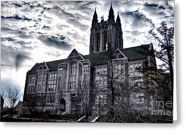 Church At Boston College Greeting Card