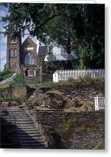 Church At Harpers Ferry Greeting Card