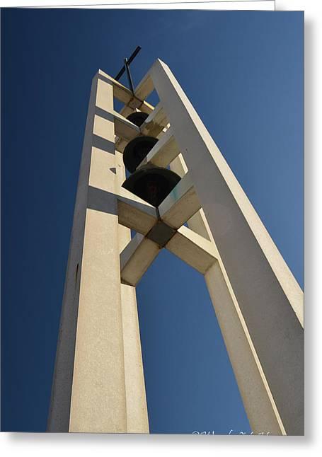 Church Bells 2 Greeting Card by Wendy Hansen-Penman
