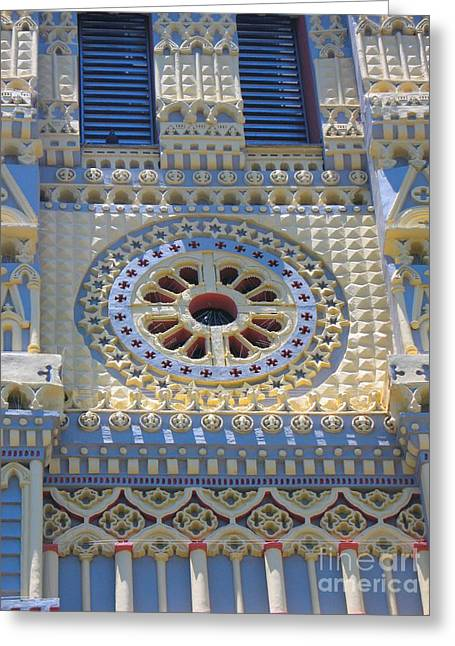 Church - Eglise De Sainte Anne - Ile De La Reunion - Reunion Island Greeting Card by Francoise Leandre