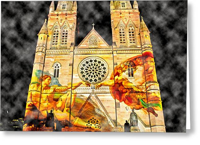 Church Images Greeting Card