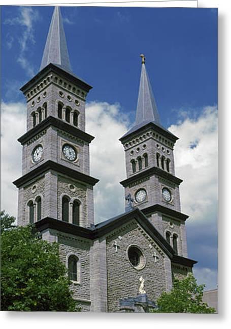 Church In A City, Church Greeting Card