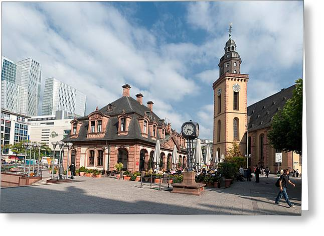 Church In A City, St. Catherines Greeting Card