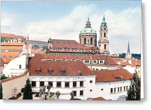 Church In A City, St. Nicholas Church Greeting Card