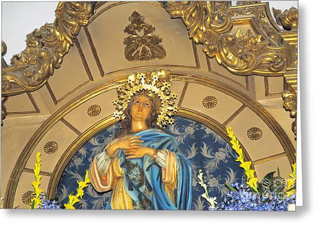 Church In Marbella Spain Greeting Card