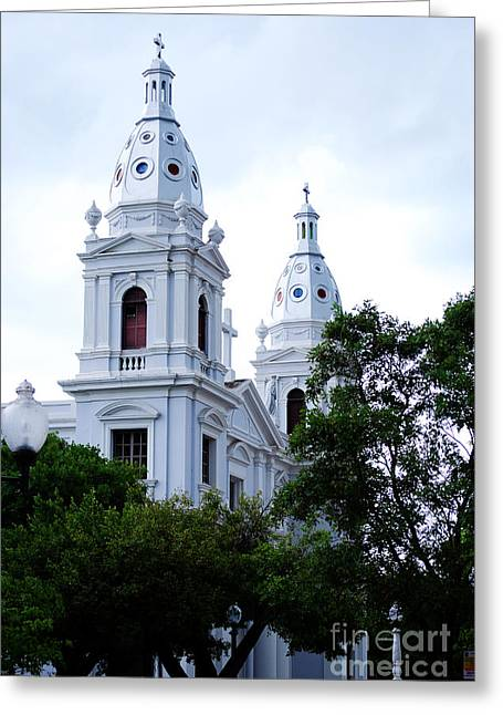 Church In Puerto Rico Greeting Card