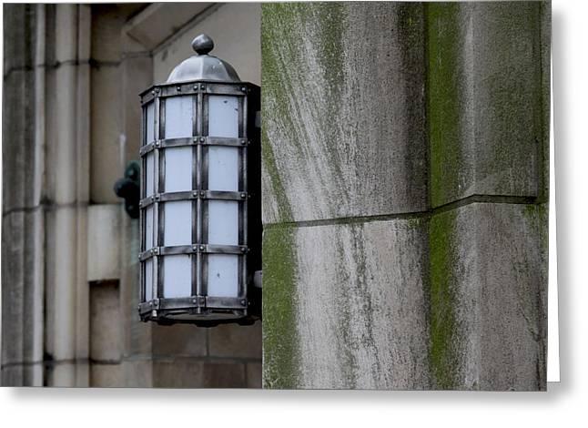 Church Lamp Greeting Card