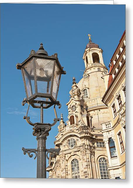 Church Of Our Lady Dresden, Germany Greeting Card by Michael Defreitas