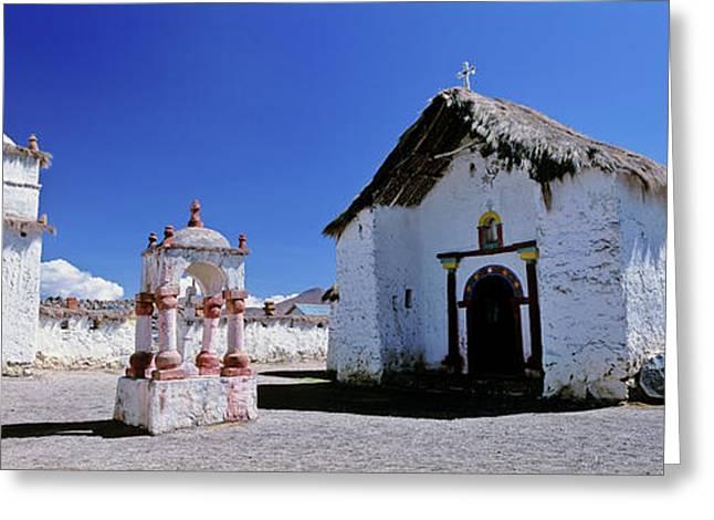 Church Of Parinacota, An Aymara Village Greeting Card