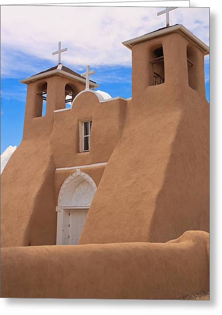 Church Of San Francisco De Asis Greeting Card