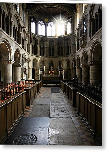 Church Of St Bartholomew The Great Greeting Card