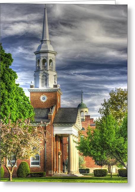 Church Of The Abiding Presence 1a - Lutheran Theological Seminary At Gettysburg Spring Greeting Card