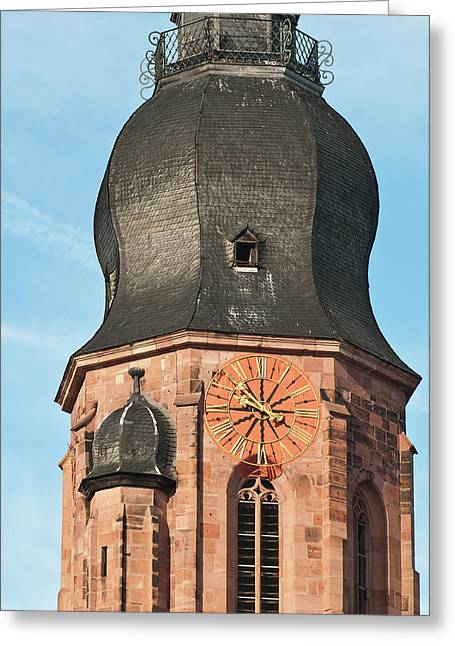 Church Of The Holy Ghost (spirit Greeting Card by Michael Defreitas