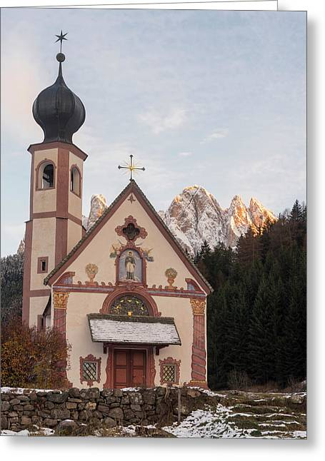 Church Sankt Johann In Ranui (st Greeting Card