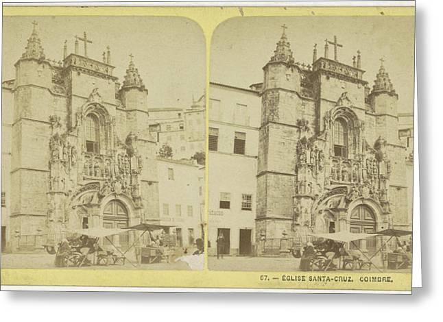 Church Santa-cruz, Coimbra Portugal. The Santa Cruz Greeting Card by Quint Lox