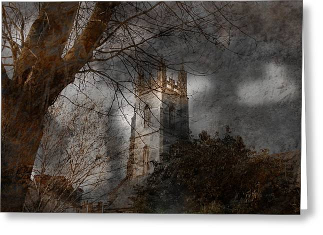 Church Tower Greeting Card