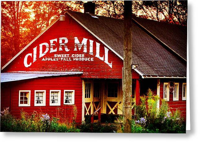 Cider Mill Greeting Card