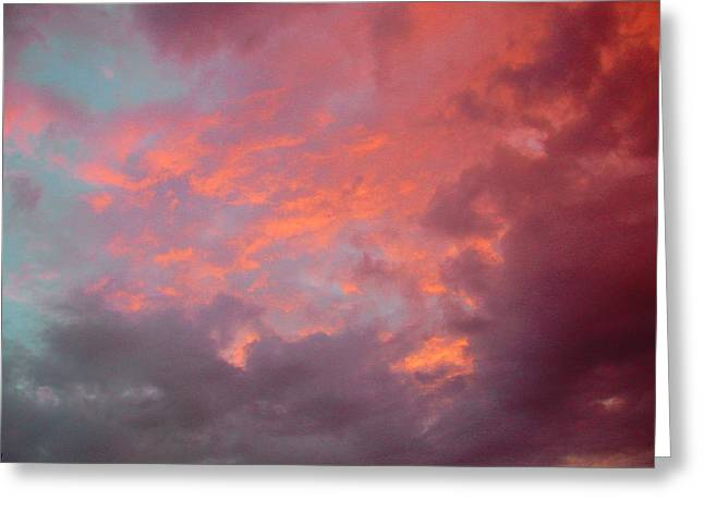 Cielo Arrabbiat Greeting Card by Dorothy Berry-Lound