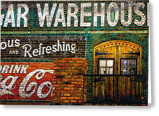 Cigar Warehouse Greeting Card by Gray  Artus