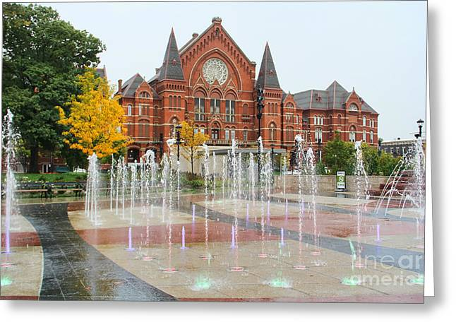 Cincinnati Music Hall 0001 Greeting Card